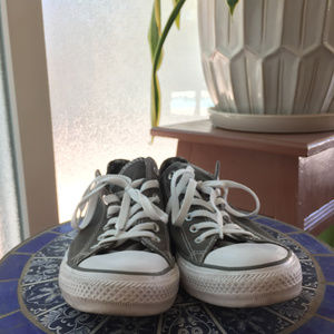 Converse Chuck Taylor All Star Grey double tongue